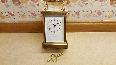 Matthew Norman (Vintage) 8 Day Carraige Clock