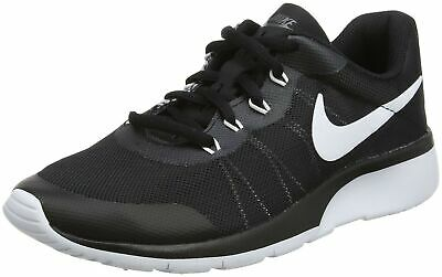 Nike Boys' Tanjun Racer (Gs) Gymnastics Shoes 3 UK BLACK TRAINERS