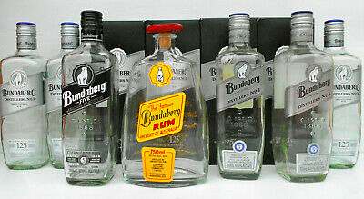 Bundaberg Rum Empty Bottles & Boxes Incl. Pure Gold Etc RARE! ***PRICED TO SELL!