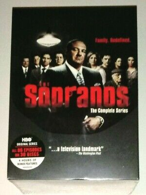 Brand New! The Sopranos: The Complete Series 1-6. 30 Disc Dvd Box Set. Free Ship