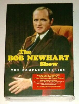 New! The Bob Newhart Show: The Complete Series. 19 Disc Dvd Box Set. Ships Free
