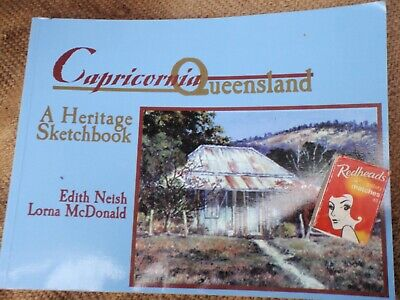 Capricornia Queensland Sketchbook 150  pages