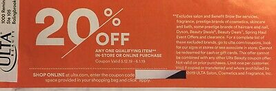 ulta beauty coupon code in store