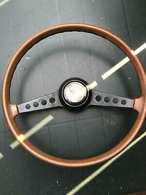 Fiat 124 Coupe > Fiat Spider  > Fiat 850 Coupe > Wooden Steering Wheel