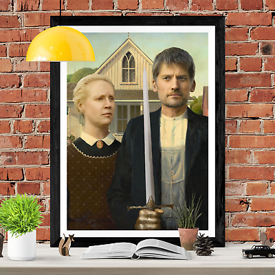 Game Of Thrones Historical Portrait Art Picture Poster Print Lannister Brienne