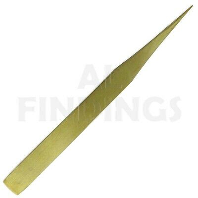 AA  Brass Tweezer Non-Magnetic tweezers Jewellery Watch Tool New