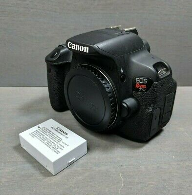 Canon EOS Rebel T5i / EOS 700D 18.0MP DSLR Camera - (Body Only)