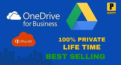 2 Unlimited Google Drive For Existing Acc + 1 Onedrive 5Tb + 1 365 New 5 Device