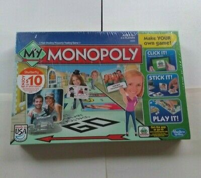 My Monopoly Make Your Own Game Board Game NIB