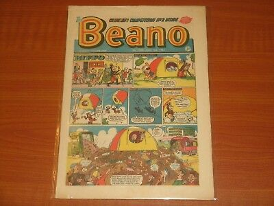 Vintage 'THE BEANO' Issue #1098 (3rd August 1963) Biffo The Bear Dennis Menace