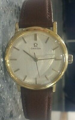 1964 Omega Gold Plated Mens Dress Watch Cal. 601 Manual Wind 34mm case