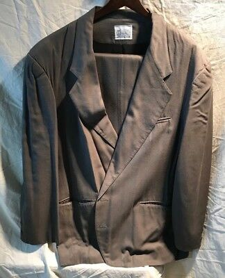 White on White by Joel Glazier Suit,Green/Grey,42R,Hardly Worn,Great Condition!