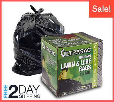 Member/'s Mark Commercial Can Liners 45-50 Gallon 220 ct Clear Garbage Trash Bag