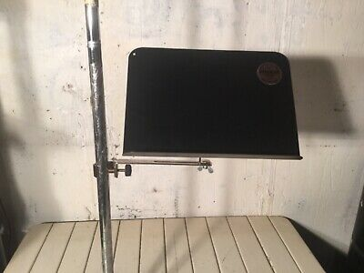 """Quik-Lock Clamp-On Music Stand 12""""W X 8.5""""H"""