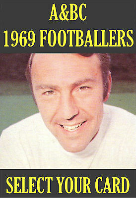 A&BC 1969 FOOTBALLERS - FOOTBALL FACTS (Green) - Select from numbers 1-117