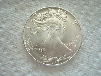 1986 American Silver Eagle, 1 Oz. Gem Brilliant Uncirculated