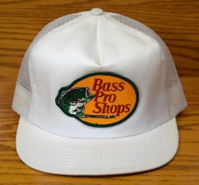 BASS PRO SHOPS mesh trucker Hat cap Vintage 80's SPRINGFIELD, MO MADE IN USA NEW