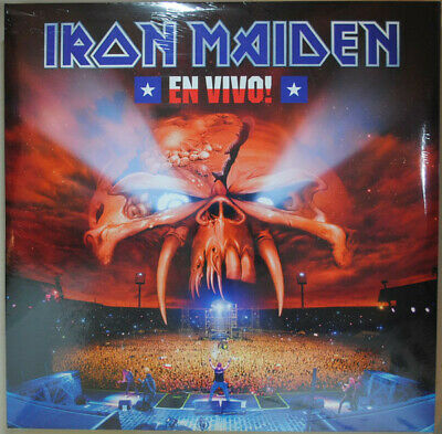 Iron Maiden - En Vivo! VINYL LP 0190295836436