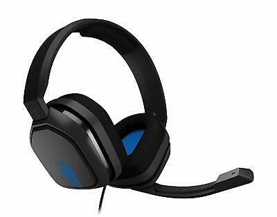 Astro Gaming - A10 Wired Stereo Gaming Headset for PS4 XBOX PC MAC - Blue/black