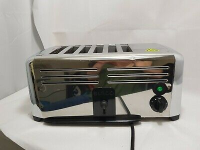 Commercial Toaster 6 Slot Slice Burco . end slice not working