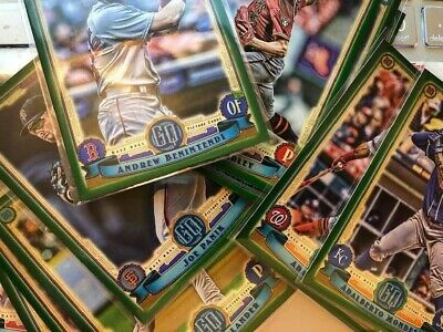 2019 Topps Gypsy Queen GREEN parallels - You pick - We ship for FREE!