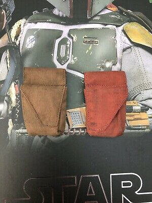Hot Toys MMS464 Star Wars ESB Boba Fett Deluxe Pre Production Belt Pouches Loose