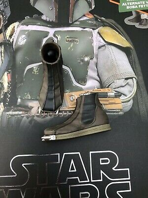 Hot Toys MMS464 Star Wars ESB Boba Fett Deluxe Boots With Pegs Loose UK 1/6