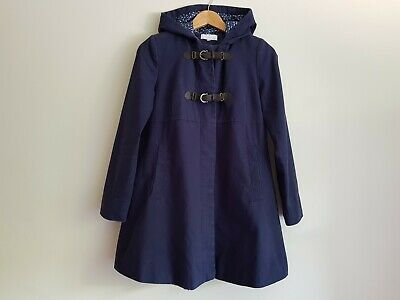 Colline maternity Size 8/EUR 36 jacket coat with hood - Blue