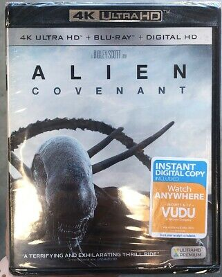 Alien: Covenant (4K UHD/Blu-Ray/Digital HD)
