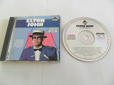 ELTON JOHN The Very Best (CD 1986) Japan Pressing