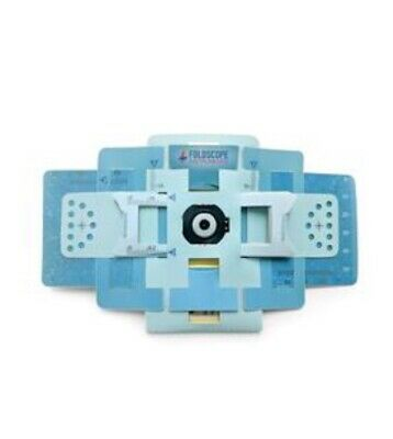 Foldscope Pocket-Microscope in Carrying Case NEW - Ships from USA