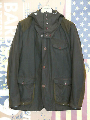 ebf8fc8133a0c Rare Mens Barbour X Tokito Beacon Sports Skyfall olive wax jacket size XL  Large