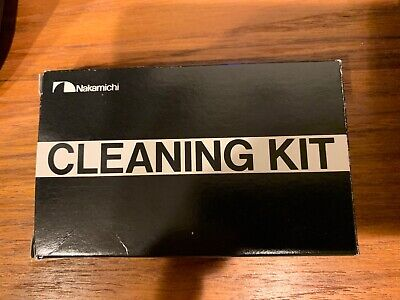 Vintage Nakamichi Dragon Cassette Deck Cleaning Kit