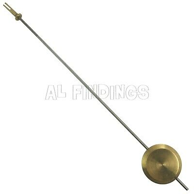 35mm Universal clock pendulum bob brass steel rod regulating nut clockmakers