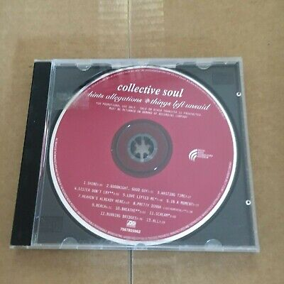 Collective Soul Cd. Hints Allegations & Things Left Unsaid Cd.