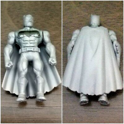 MIGHTY MINIS SERIES 2 Silver BATMAN vs SUPERMAN New Figure with Package VHTF!