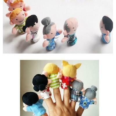 Kids Plush Toy Cute Cartoon Finger Doll Parent-child Interactive Toy RLWH