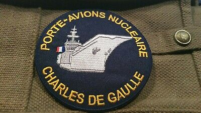 Patch .. Porte Avions Charles de Gaulle - 90 mm