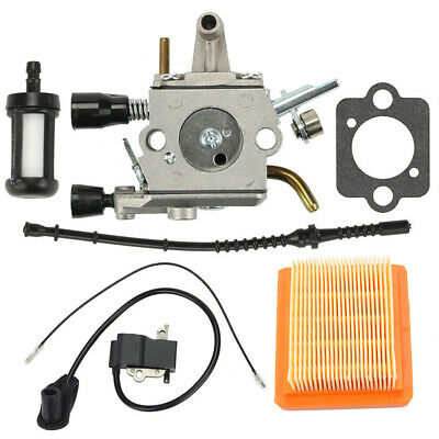 Carburateur Kit pour Stihl Fs120 Fs120r Fs200 Fs200r Fs020 Fs202 Filtre à Air