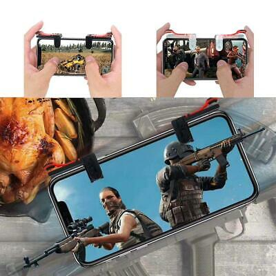 1 Pair Mobile Phone Game Controller Shoot Aiming Triggers Fire Button MSF 04