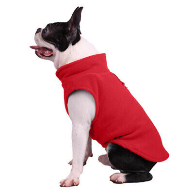Winter Dog Clothes Dog Fleece Vest Jumper Sweater Coat Small Breed Dogs