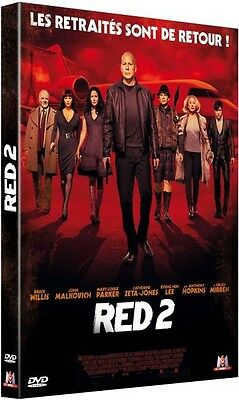 DVD : RED 2  [ Bruce Willis, John Malkovich, Catherine Zeta Jones ]  NEUF cello.