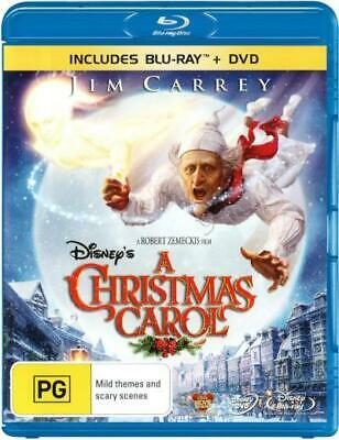 A Christmas Carol (Disney's) (2009) (Blu-Ray/Dvd) (2009) [New Bluray]