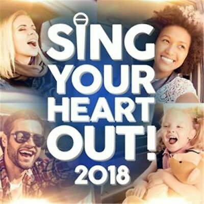 Various Artists - Sing Your Heart Out 2018 (2Cd) * New Cd