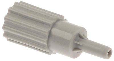 Hobart Hose Barb for Dishwasher Amx, Auxxt , ECOMAX-612S-10, Aup 1/8 ""