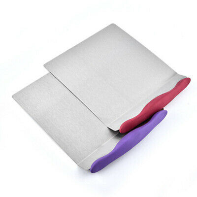 1pcs Large Pizza Peel & Cake Lifter Paddle Spatula Stainless Steel Heavy Duty