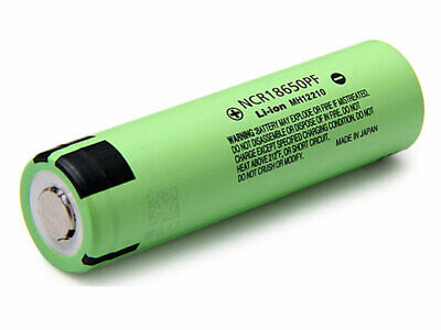 Pile cellule Lithium-Ion chargeable Panasonic NCR18650PF 3.6V 2900mAh