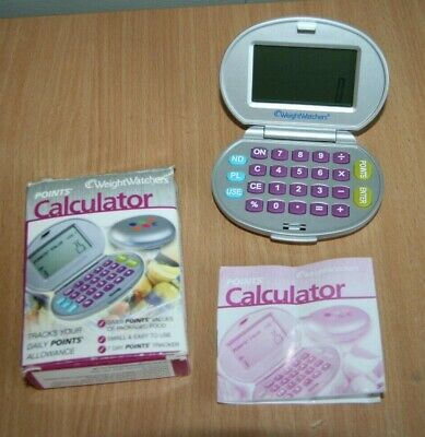 Weightwatchers Points Calculator' Old Points Before Propoints' Rare Boxed