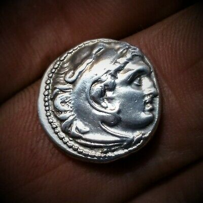 Rare Alexander III The Great AR Drachm 336-323 BC
