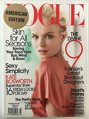 US VOGUE - February 2008 - Kate Bosworth Cover